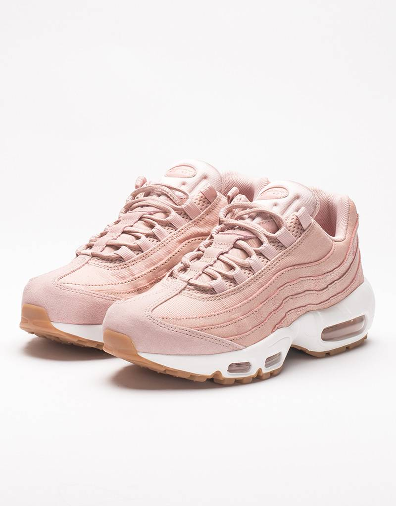 nike womens air max 95 prm pink oxford note parisienne. Black Bedroom Furniture Sets. Home Design Ideas