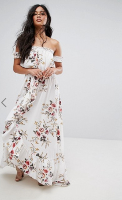 http://www.asos.fr/boohoo/boohoo-robe-longue-motif-floral-a-volants-et-epaules-denudees/prd/7834580?clr=blanc&SearchQuery=&cid=9979&pgesize=36&pge=0&totalstyles=321&gridsize=4&gridrow=1&gridcolumn=3