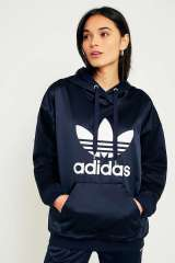 https://www.urbanoutfitters.com/fr-fr/shop/adidas-originals-europa-navy-satin-trefoil-hoodie?category=new-in-womens-clothing&color=041