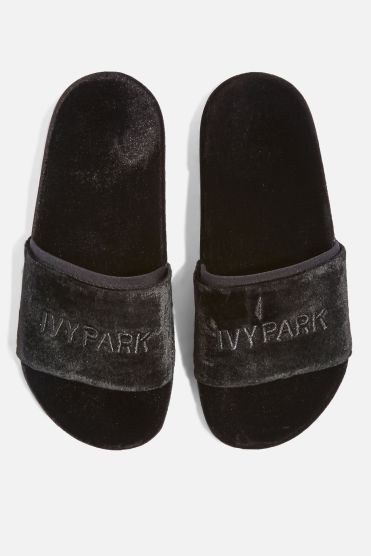 http://eu.topshop.com/en/tseu/product/sale-6923953/shop-all-black-friday-offers-7181251/velvet-embossed-sliders-by-ivy-park-7051517?bi=268&ps=20